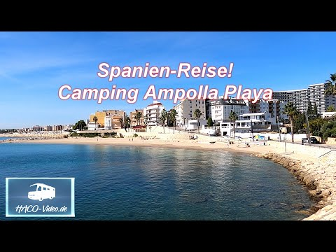 Spanien-Reise! Camping Ampolla Playa am Ebro-Delta