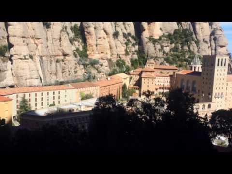 Funicular de Sant Joan, Montserrat, Spain, March 2017