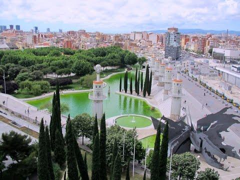Parc de l'Espanya Industrial, Barcelona, Spain