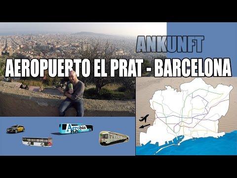 Wie kommt man vom Flughafen El Prat nach Barcelona