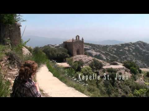 Montserrat, Spain in der Bergwelt (HD)