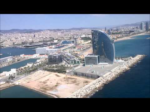 Barcelona 2015 - Helicopter ride