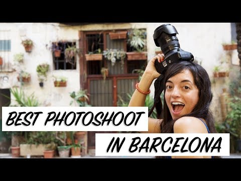Best Photoshoot tour in Barcelona. Unique things to do in Barcelona.