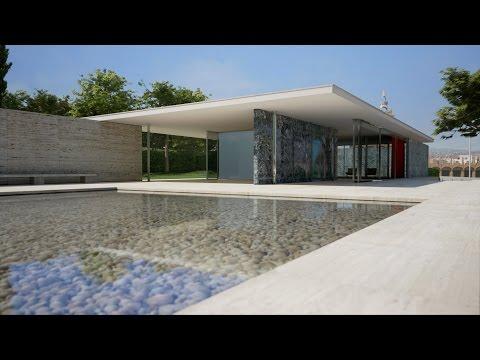 UE4Arch - Barcelona Pavilion Real-time Archviz