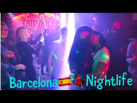 A Night Out in Barcelona💃Nightlife at Jamboree Hip-Hop Jazz & Dance Club ft. Some Spanish Girls