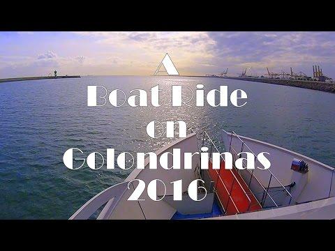 A Boat Ride on Las Golondrinas - Barcelona, Spain 2016 GoPro Hero4 Session