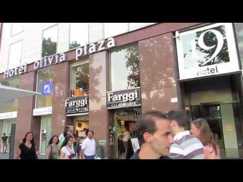 Olivia Plaza Hotel in Barcelona, Spain