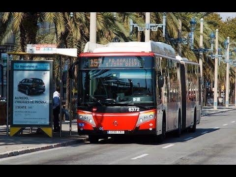 Autobus en Barcelona, Cataluña, España - TMB Bus Metro | Transports Metropolitans de Barcelona