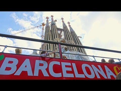 Barcelona - City Sightseeing Bus Tour 4K