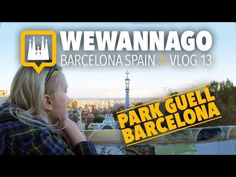 A tour of Park Guell in Barcelona Spain // Round the World Travel // WeWannaGo TV