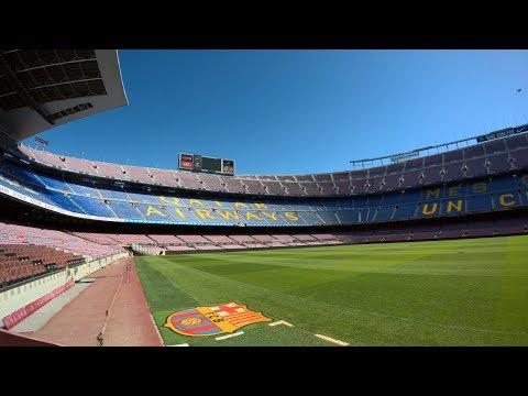 Camp Nou Experience Full Walkthrough