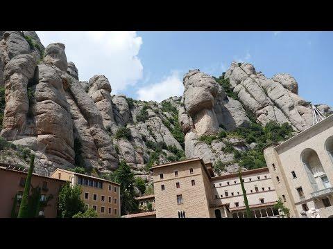 MONTSERRAT Kloster Katalonien Spanien 2016 GK