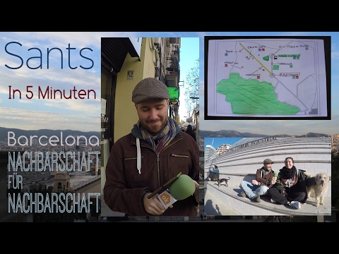 Sants In 5 Minuten - Barcelona Nachbarschaft für Nachbarschaft