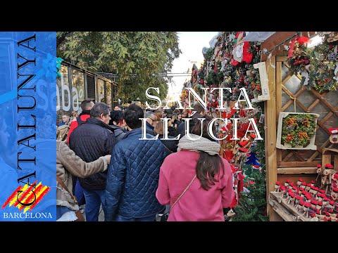 Fira de Santa Llúcia navidad en el centro   Barcelona #13
