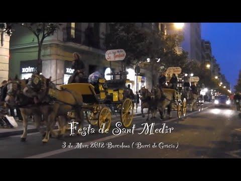Festa de Sant Medir 3 de Marzo 2012 Barcelona