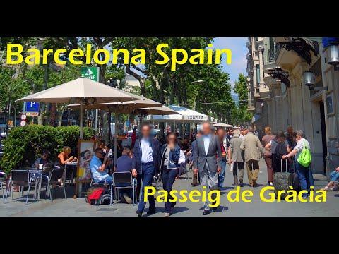 Barcelona: Avenida Passeig de Gràcia