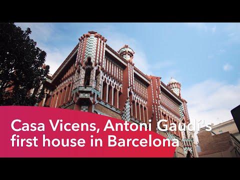 La casa Vicens, la première maison d'Antoni Gaudí à Barcelone