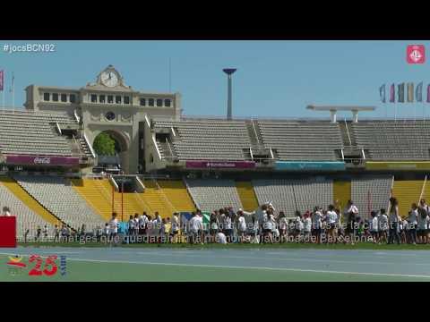 L'Estadi Olímpic Lluís Companys, 25 anys després