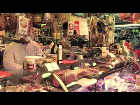 Carnicerias en el Mercado de la Concepción Barcelona