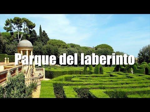 ⛲️ PARQUE DEL LABERINTO de Horta en Barcelona