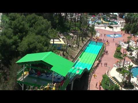 Portaventura Aquatic water park Salou Spain June 2013