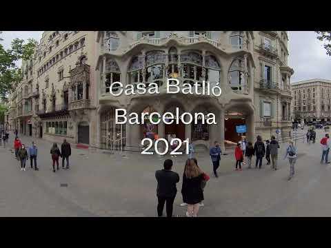 Casa Batlló 10D Experience a 360º - Barcelona Mayo 2021 · Insta360 ONE R