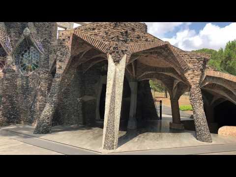 Colonia Guell, Gaudi, Barcelona : World Heritage
