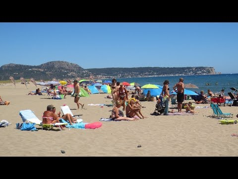 Camping El Delfin Verde in Torroella de Montgri, Girona (June 2017).