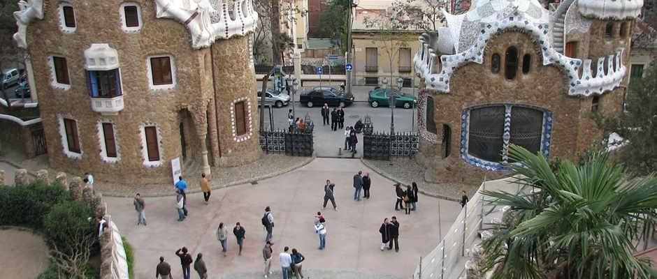 Bekannte Sehenswürdigkeit in Barcelona