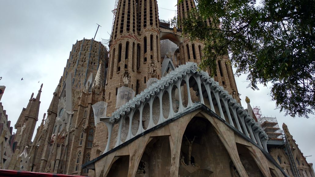 Sagrada Familia Fassade Barcelona
