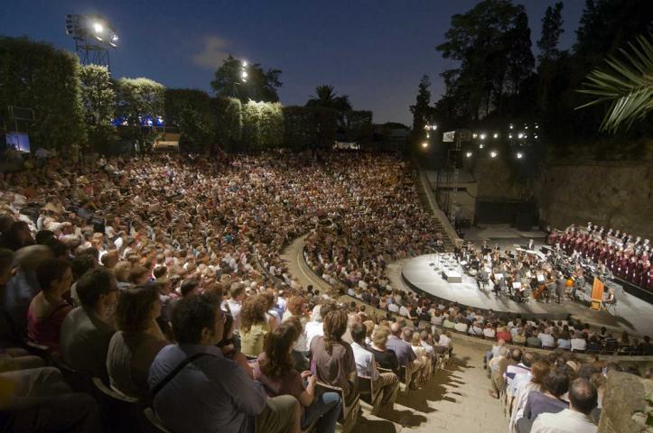 Teatre Grec - Foto Josep Aznar_Grec_Festival_Barcelona
