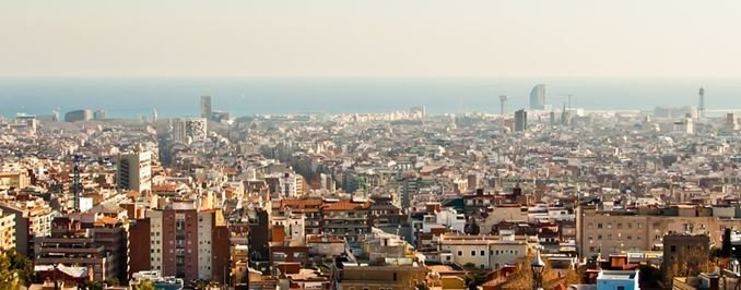 barcelona-panorma-bild