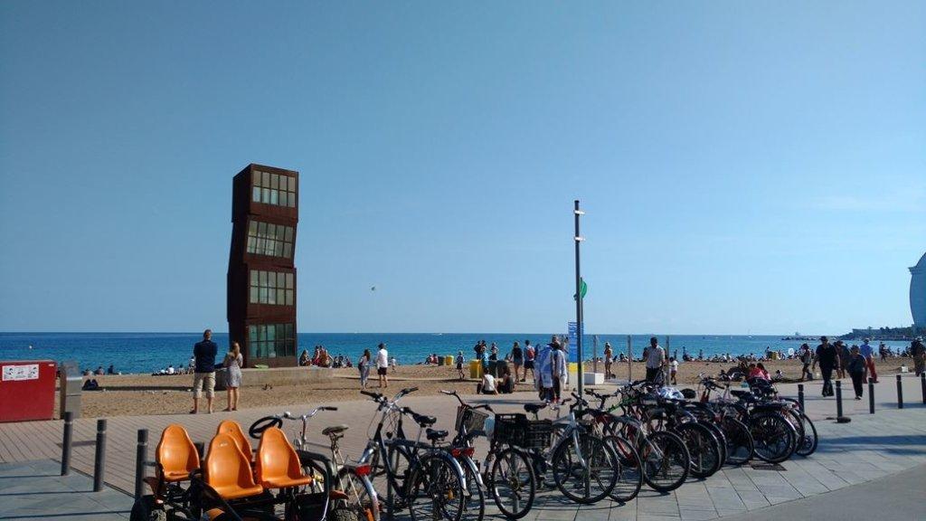 Turm Strand Barcelona