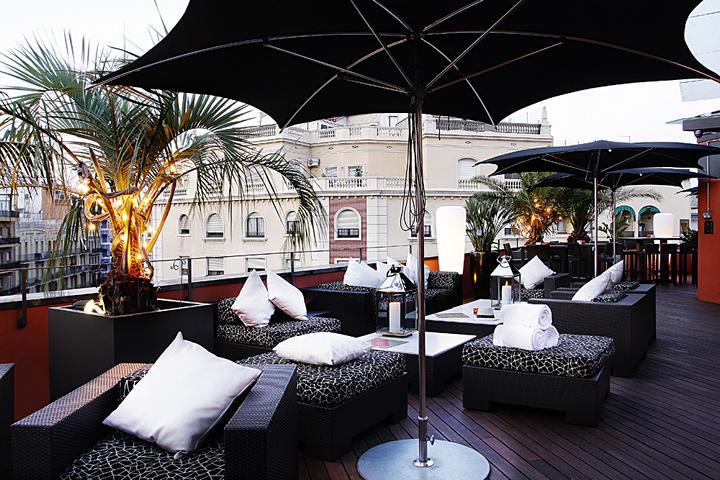 Hotel Villa Emilia Dachterrasse