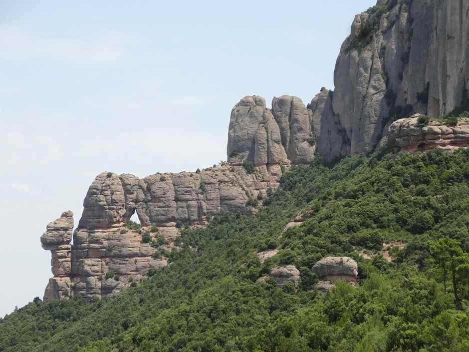 Berg Montserrat Barcelona