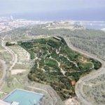 Jardi Botanic Barcelona Aus der Luft Karte Uebersicht