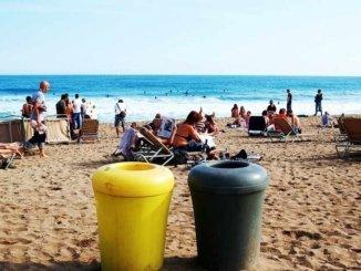 Barcelona Strand für Kinder