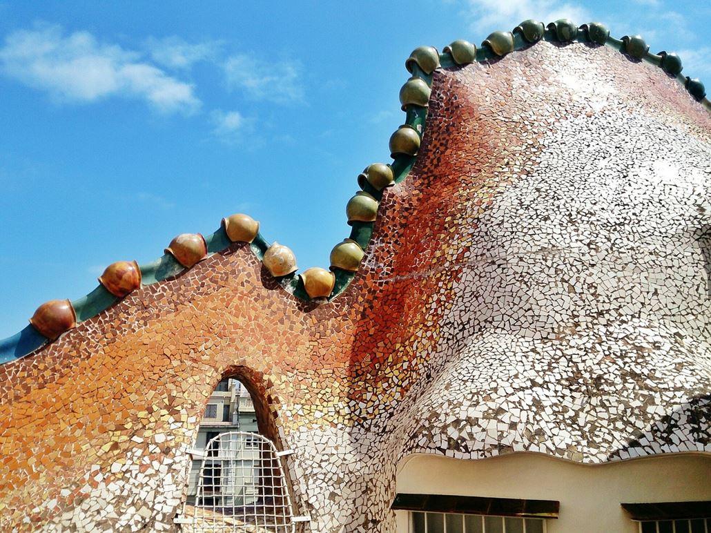 Casa Batllo Drache Dach