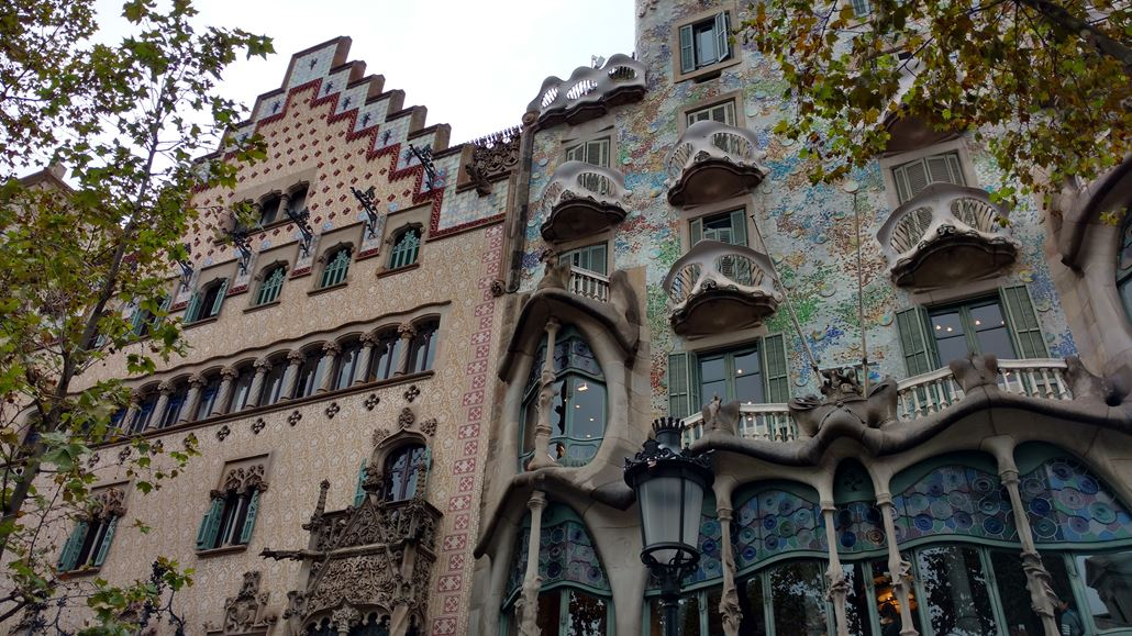 Casa Batllo Fassade Barcelona