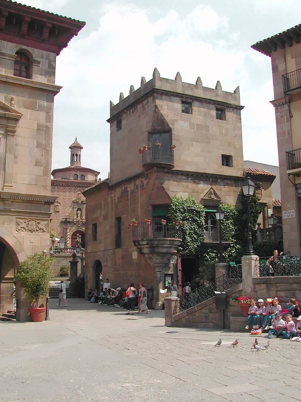 el-poble-espanyol-de-barcelona