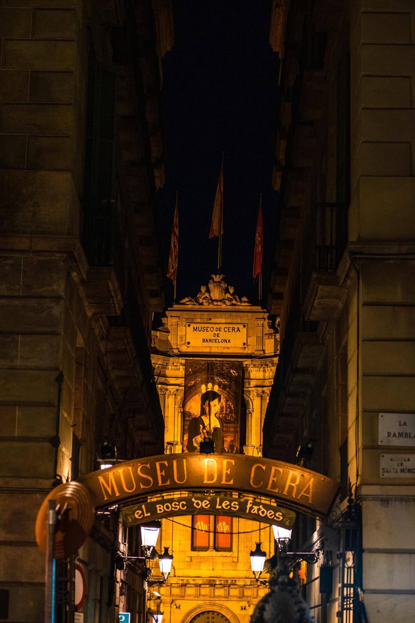 Wax Museum in Barcelona - Top