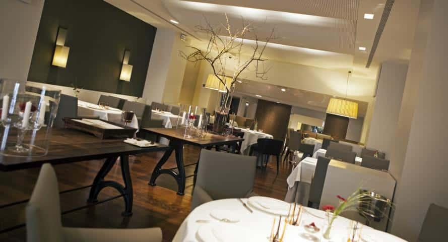 Gaig Restaurant Gastraum