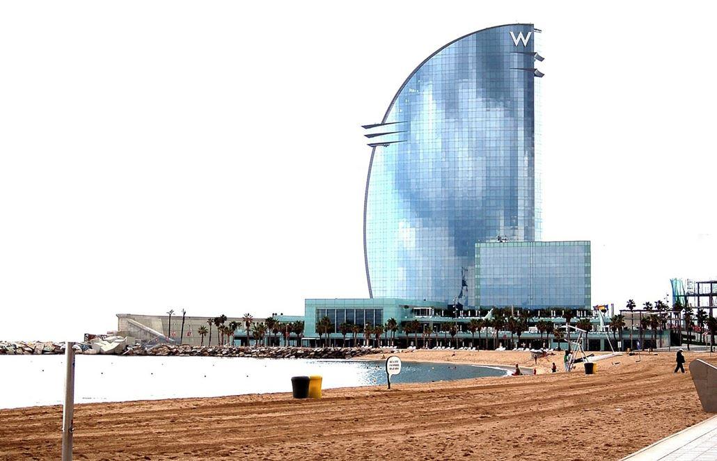 w-hotel-barcelona-strand