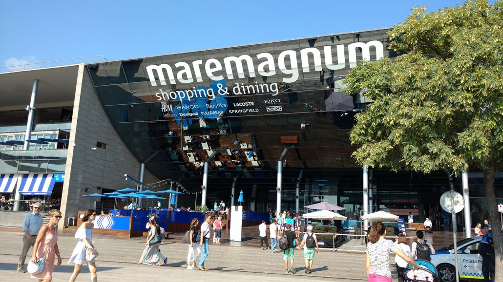 Maremagnum Shopping Center Barcelona