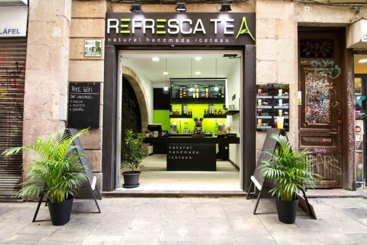 Refresca barcelonas erste icetea bar interview - Tea shop barcelona ...