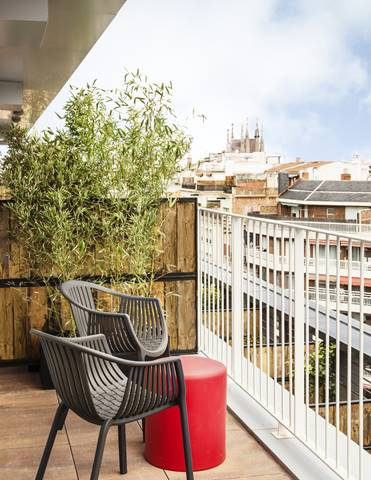 Generator Barcelona - Private terrace with views across the city