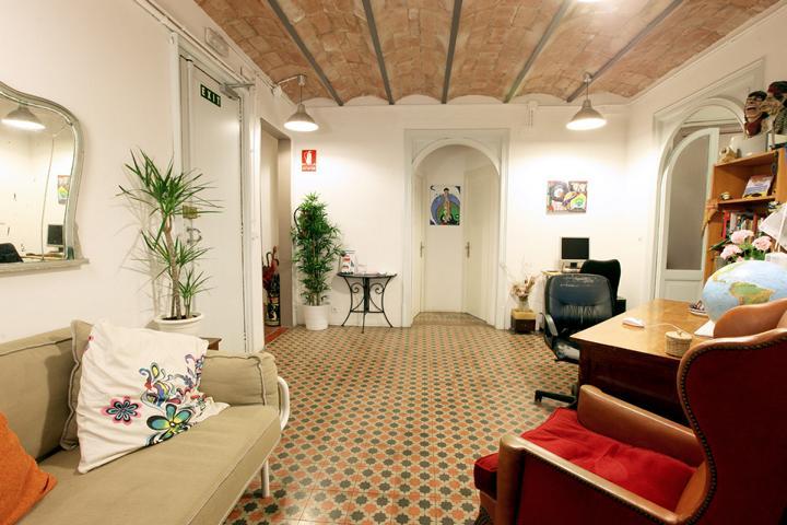 Primavera Hostel Barcelona Gemeinschaftsraum