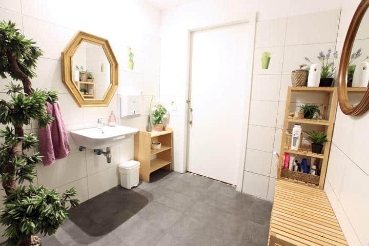 Primavera Hostel Barcelona Sanitär