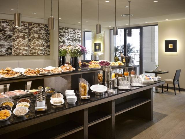 K+K HOTEL PICASSO Barcelona - Frühstücksraum