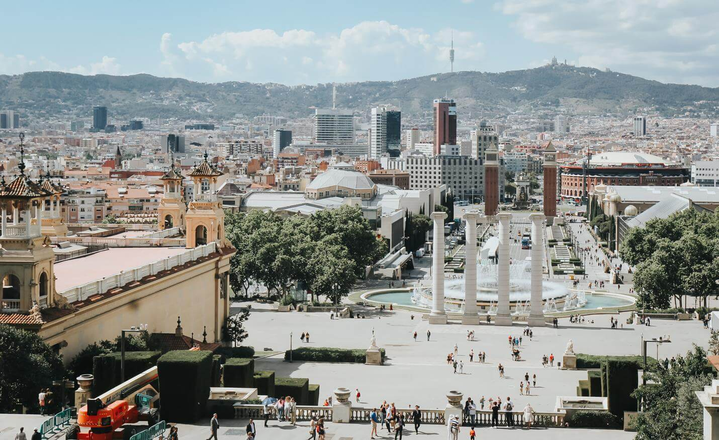 Anreise nach Barcelona - Top